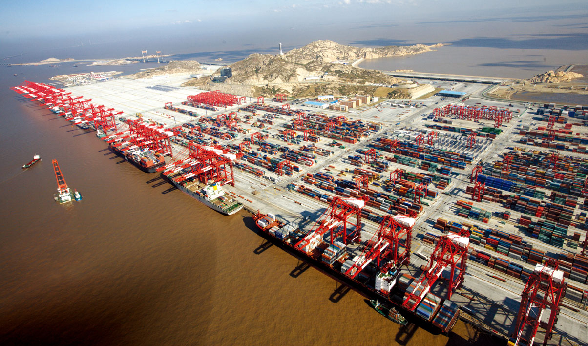 #Blockchain infrastructure for two major China Ports