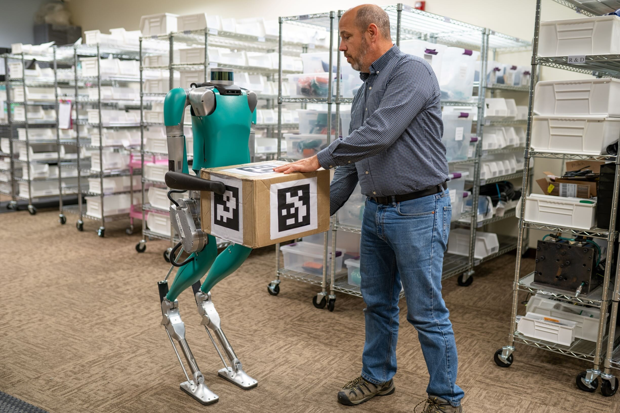 Support and storage operations that can already be robotized / automated