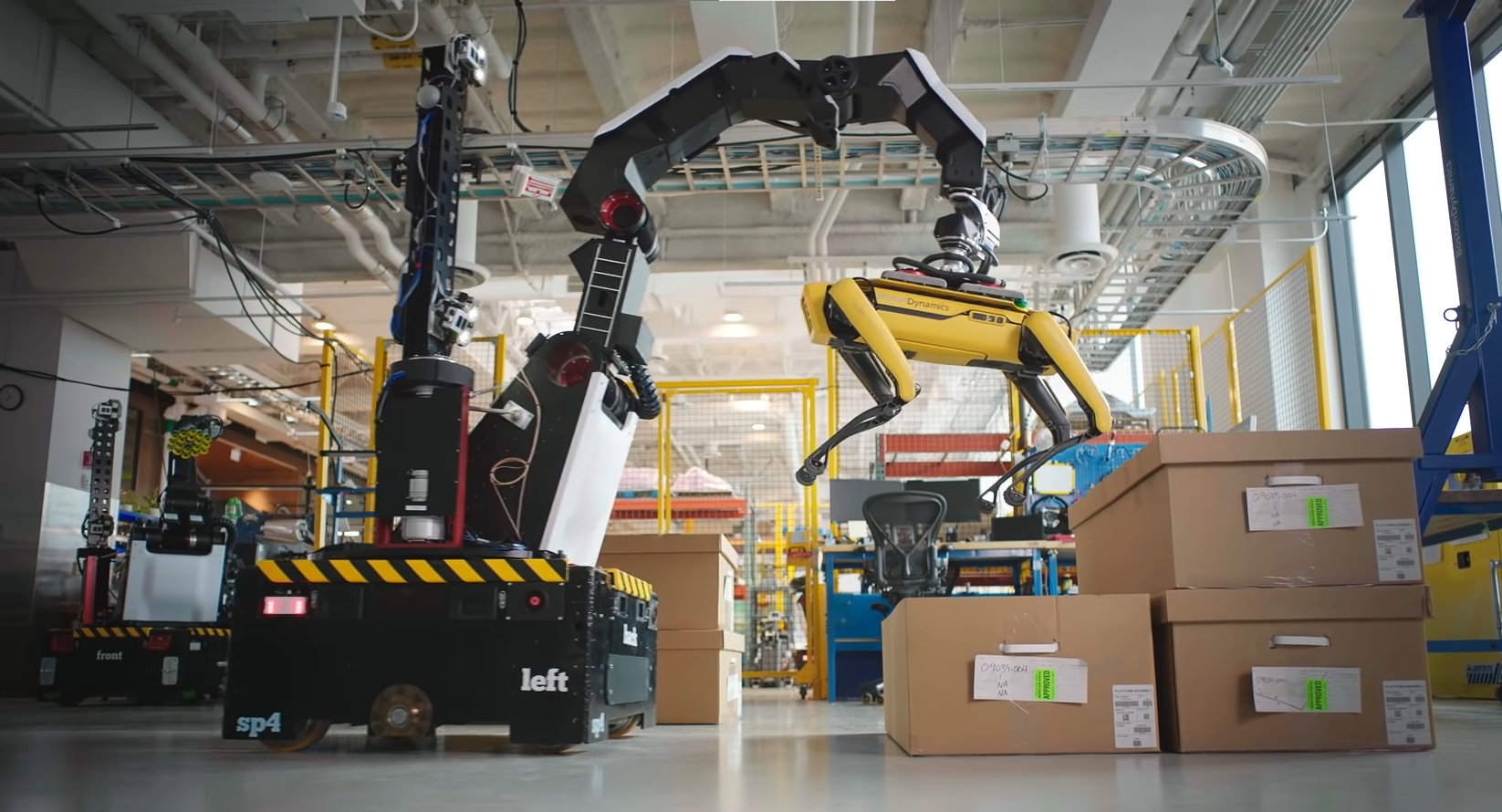 Boston Dynamics innovates robots that will boost the efficiency of logistics warehouses