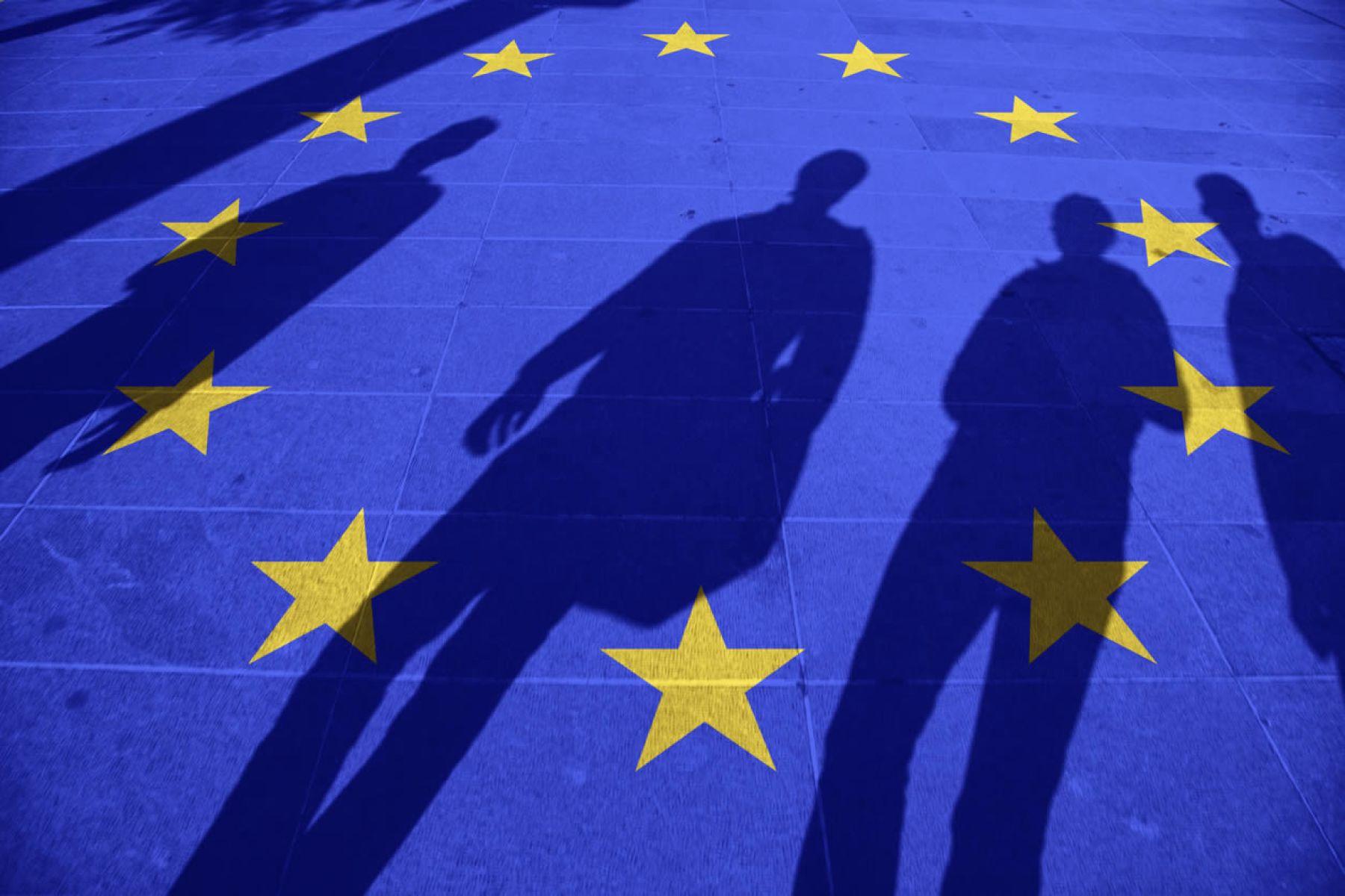 Data for reflection: technology as a vertebrator axis of european economies