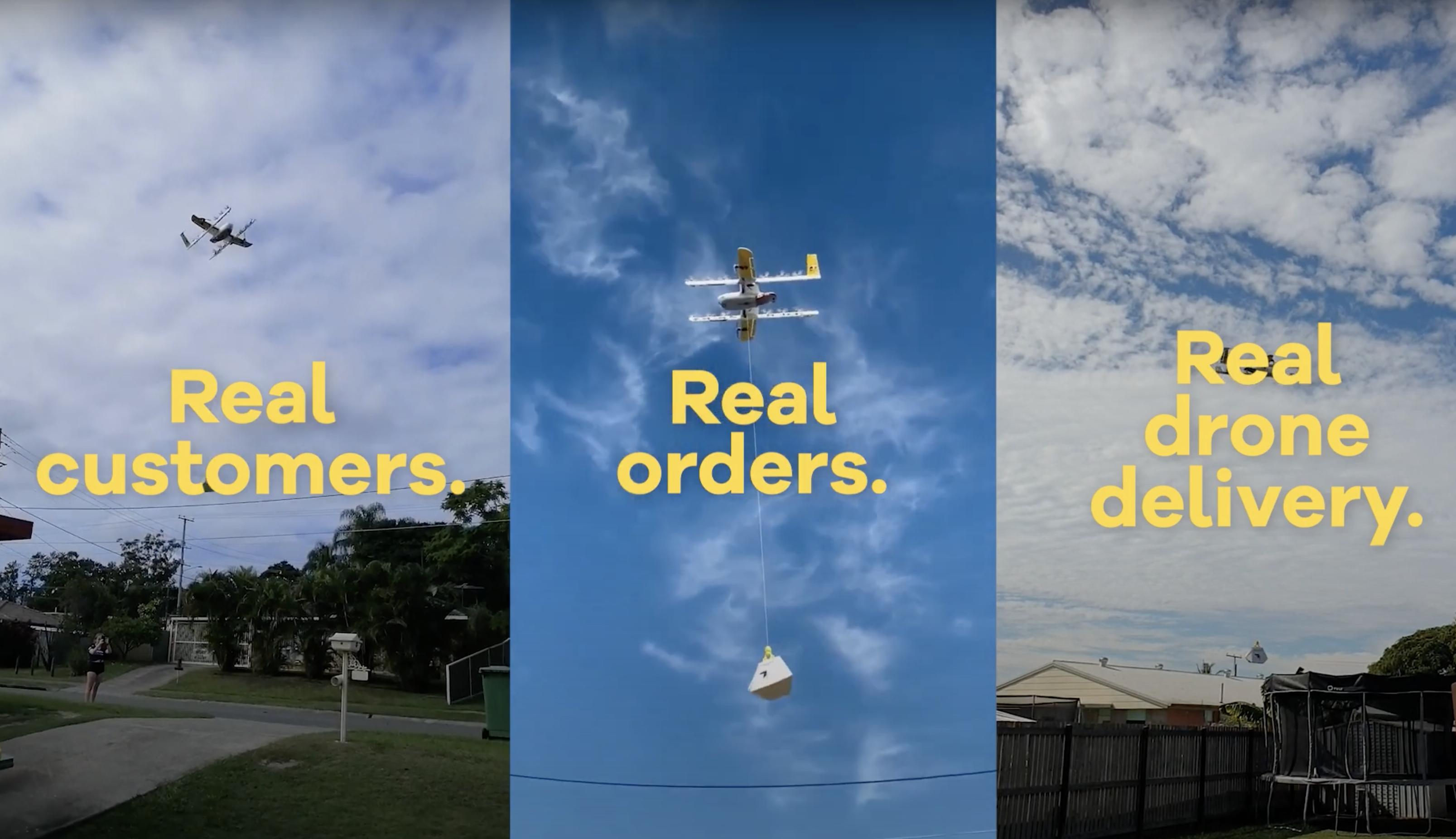 Australia: Real Drone Delivery